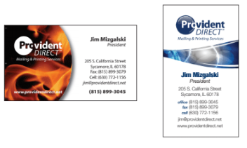 uncoated matte silk business cards
